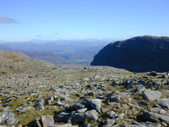 Northern slopes of Sgurr a' Chaorachain
