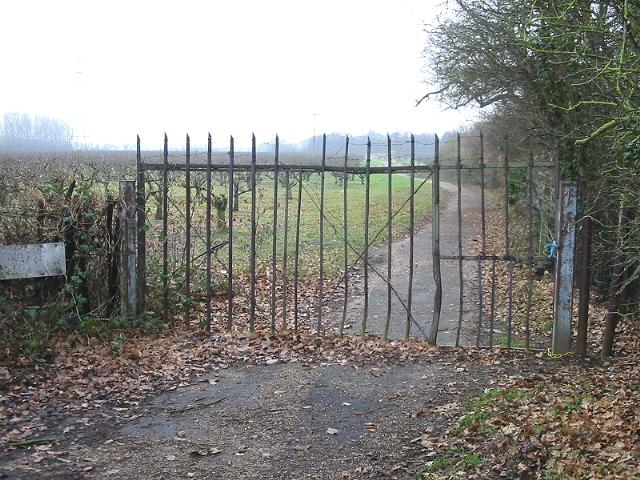 Private road to Little Barton Farm