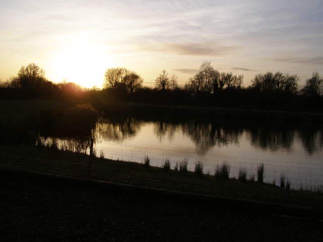 Sunset at Deeping Lakes