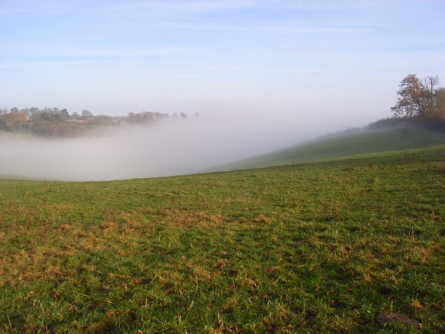 Foggy valley, Turville
