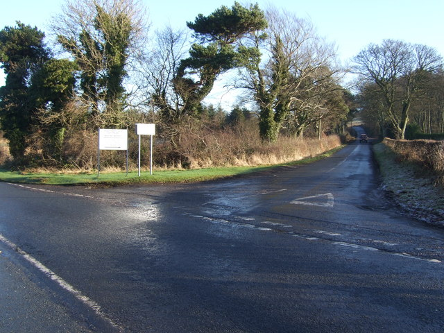 A706 junction