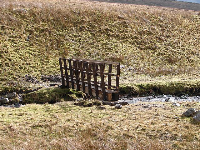 New footbridge across Little Dale Beck
