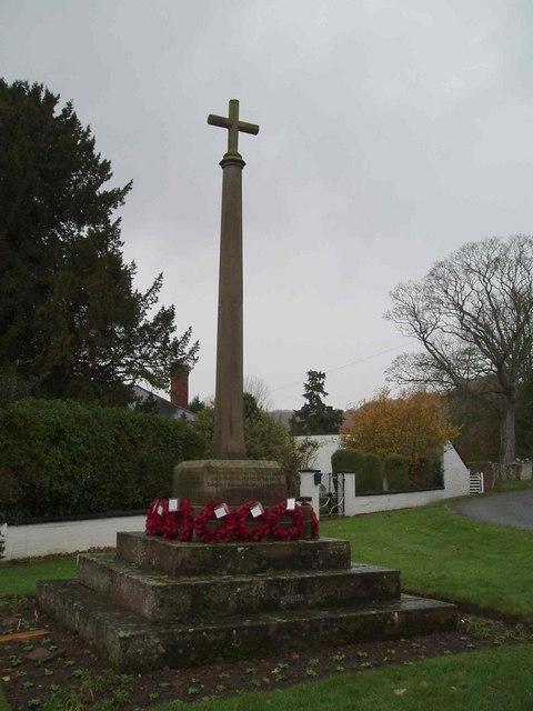 Bodenham War Memorial