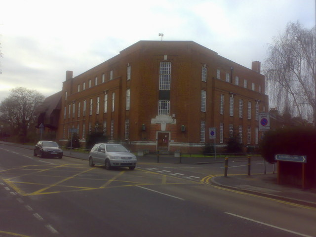 Merton Park Telephone Exchange, Kingston Road