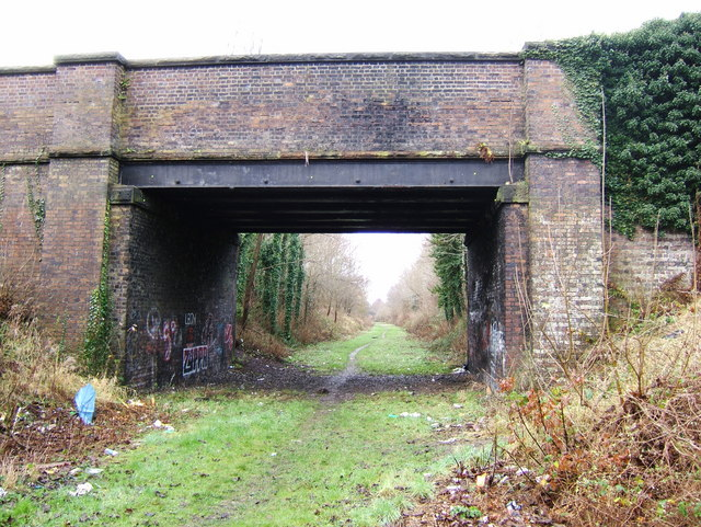 Mannings Lane South railway bridge