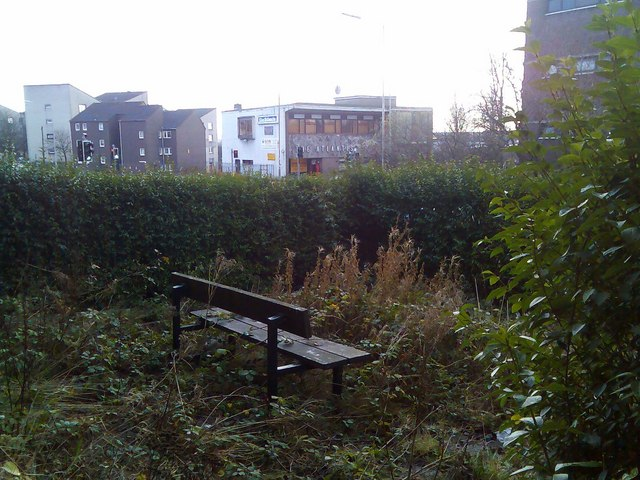 Quiet desolation in central Clydebank