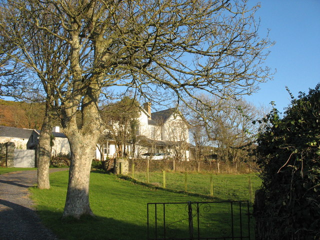 The former rectory at Llanengan