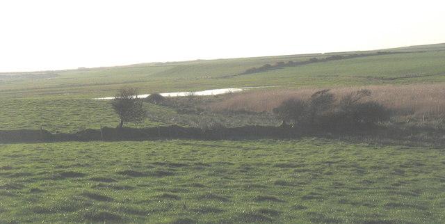 Pools on the flood plain of Afon Soch near Llanengan