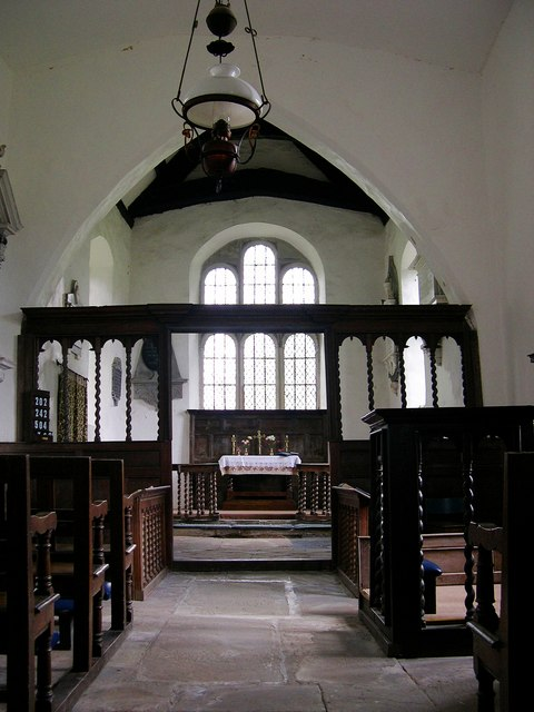 Interior, St Mary, Monnington on Wye