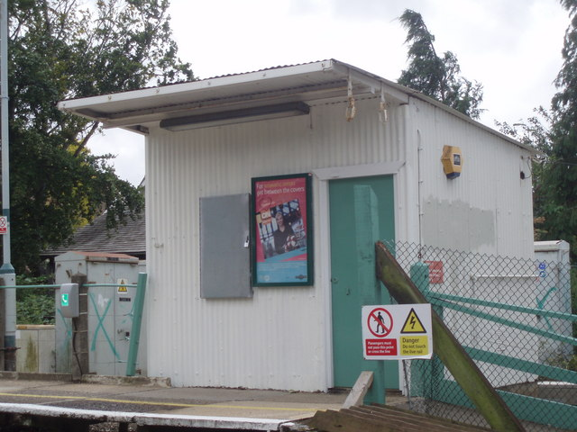 Ticket office at Warblington Station