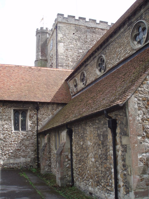 Rear of St Faith's Havant