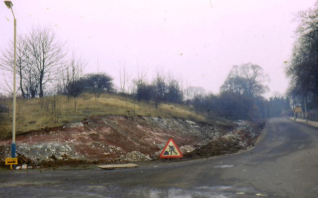 Gainsborough Grammar School Hill. Gypsum + Marl escarpment.