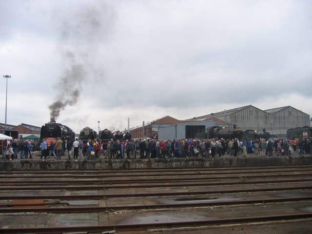 Crewe Railway Works - Open Day 2005