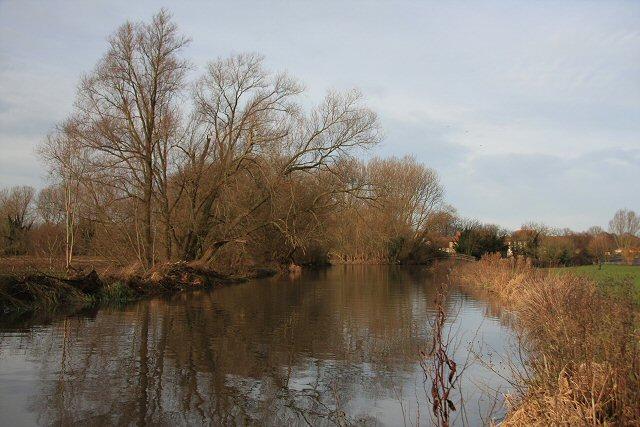 River Lark at Mildenhall