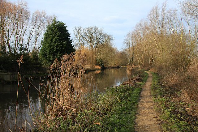 Footpath along River Lark