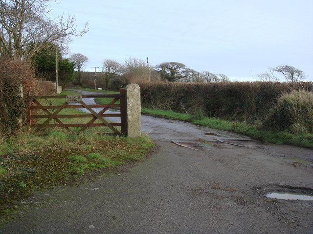 Entrance to Collation Farm from the A39