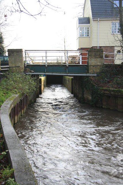 Barton Mills lock