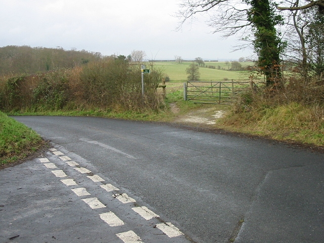 Footpath from Love Lane
