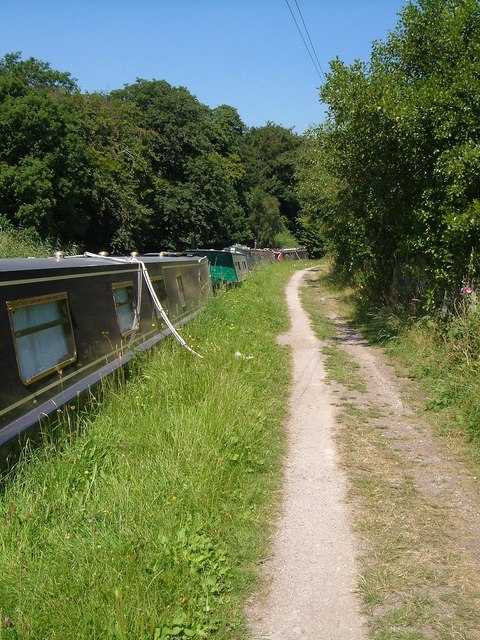 Towpath,  Trent and Mersey Canal