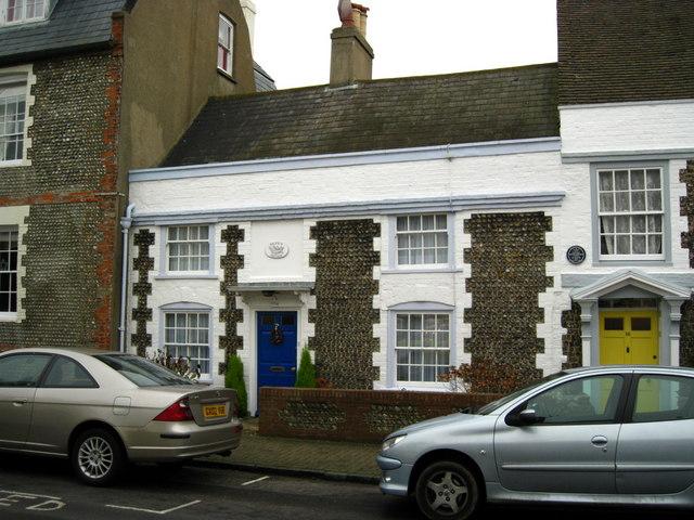 Fisherman's cottage, Church Street, Shoreham