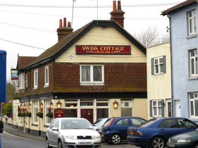Swiss Cottage pub, Old Shoreham Rd, Shoreham-by-Sea
