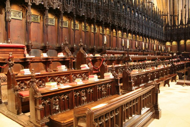 St.Hugh's Choir Stalls