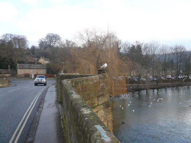 Bakewell - Bridge Crossing River Wye