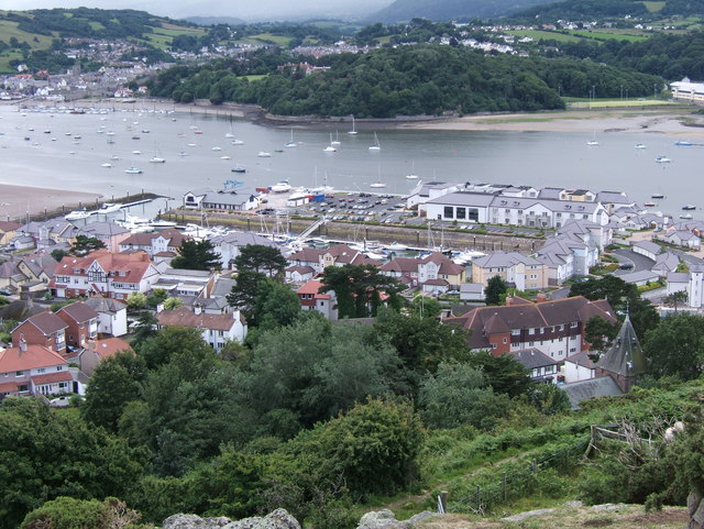 View of Deganwy Marina