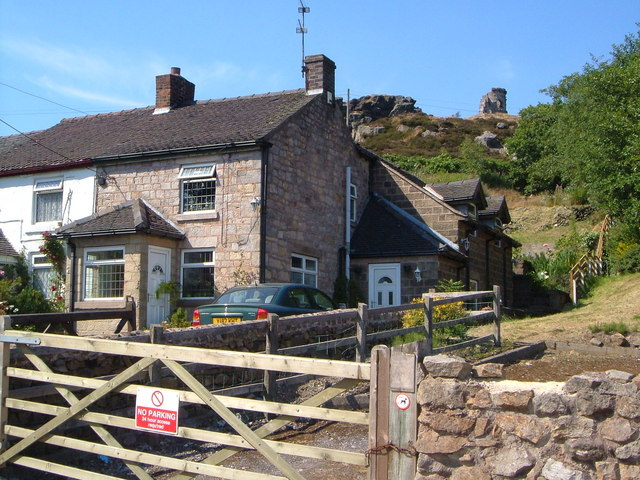 Cottages at Mow Cop