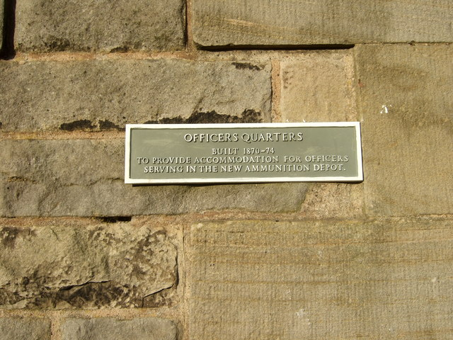 Plaque on barracks, Blackness Castle