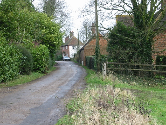 View along The Street, Goodnestone