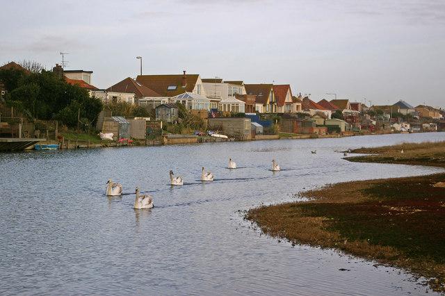 Along Widewater Lagoon