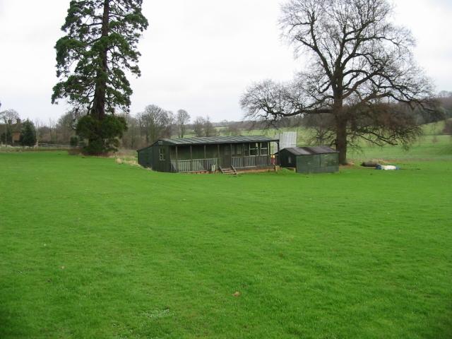 Cricket pavilion at Goodnestone