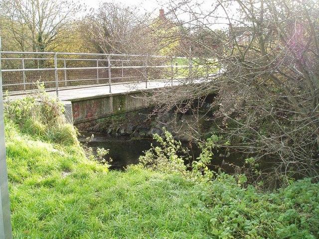 Footbridge over the river Kenwater