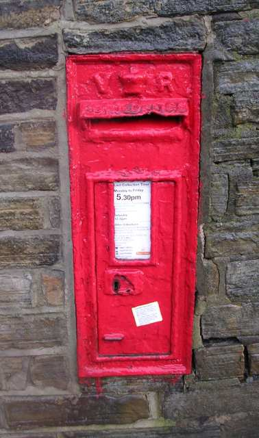 Victorian Post Box - Carr Lane