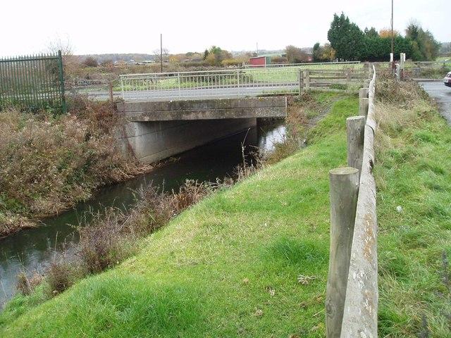B4361 bridge over the river Lugg