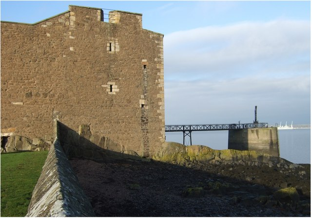 Blackness Castle waterfront