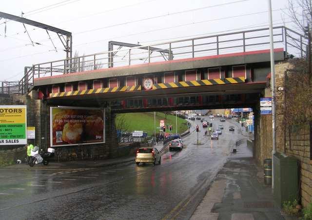 Low Well Bridge No SBF-47 - Leeds Road, Shipley