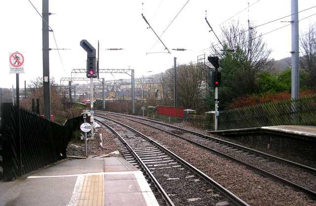 Railway Line over Bridge TJC3-48B - Shipley Station