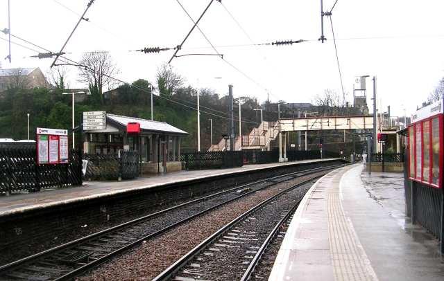 Shipley Station Platforms