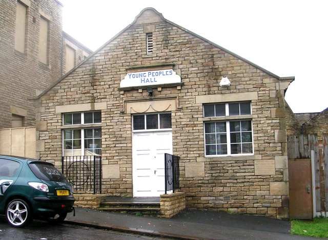 Salvation Army Young People's Hall - Rhodes Place