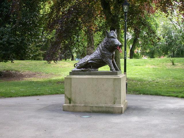Boar statue in Arboretum
