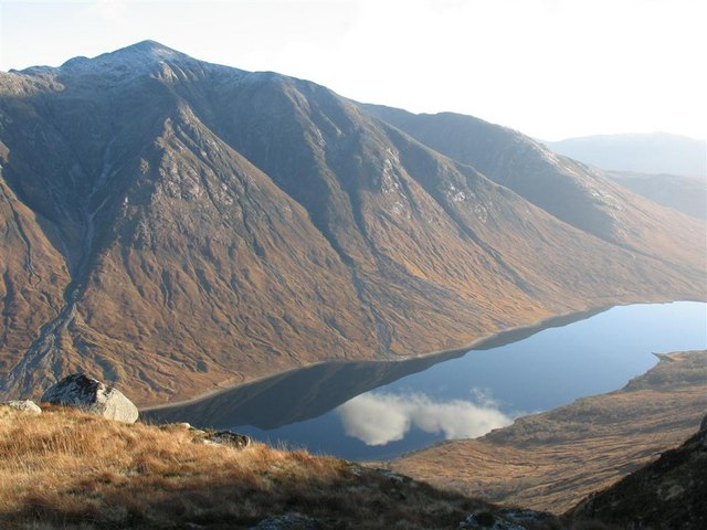 View SE from Meall nan Gobhar