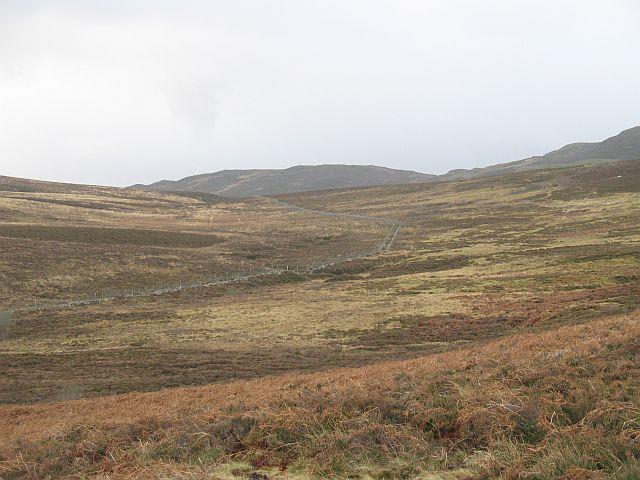 Col between Schiehallion and Dùn Collich