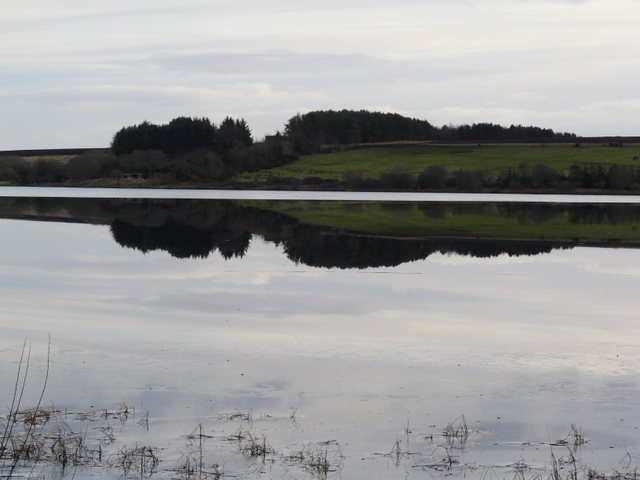 Reflections in Loch Eye