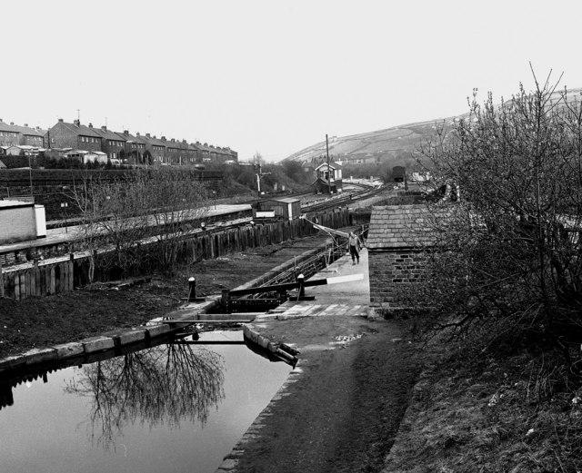 Marsden Lock No 42E, Huddersfield Narrow Canal