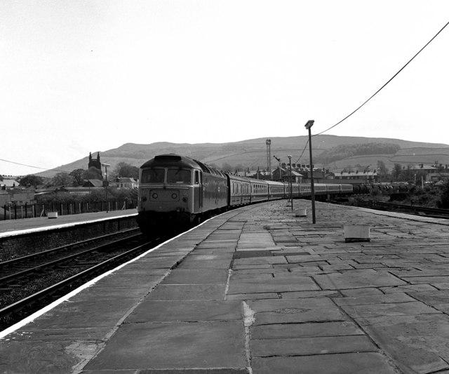 Skipton station, Yorkshire