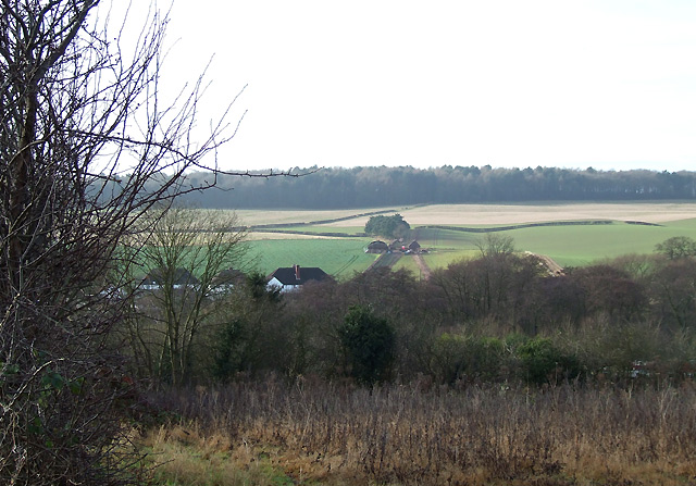 Farmland near Swindon, Staffordshire