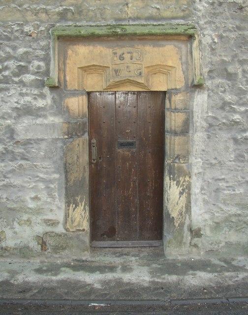 Doorway to Town End Farm, Halton