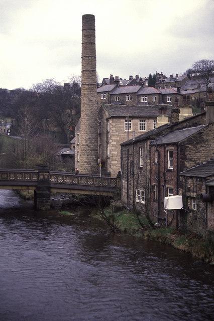 Old chimney Hebden Bridge